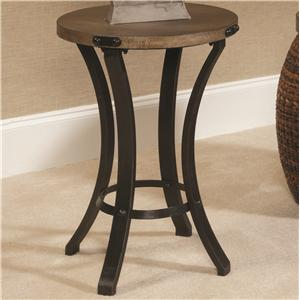 Morris Home Furnishings Hidden Treasures Round Accent Table