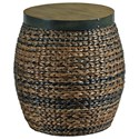 Hammary Hidden Treasures Round Accent Basket Table - Item Number: 090-380