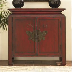 Hammary Hidden Treasures Butterfly Chest
