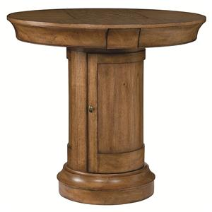 Morris Home Furnishings Hidden Treasures Oak Pub Table