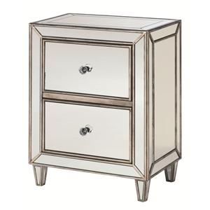 Morris Home Furnishings Hidden Treasures Mirror Drawer Chest