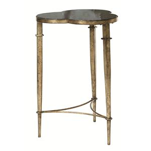 Morris Home Hidden Treasures Clover Accent Table