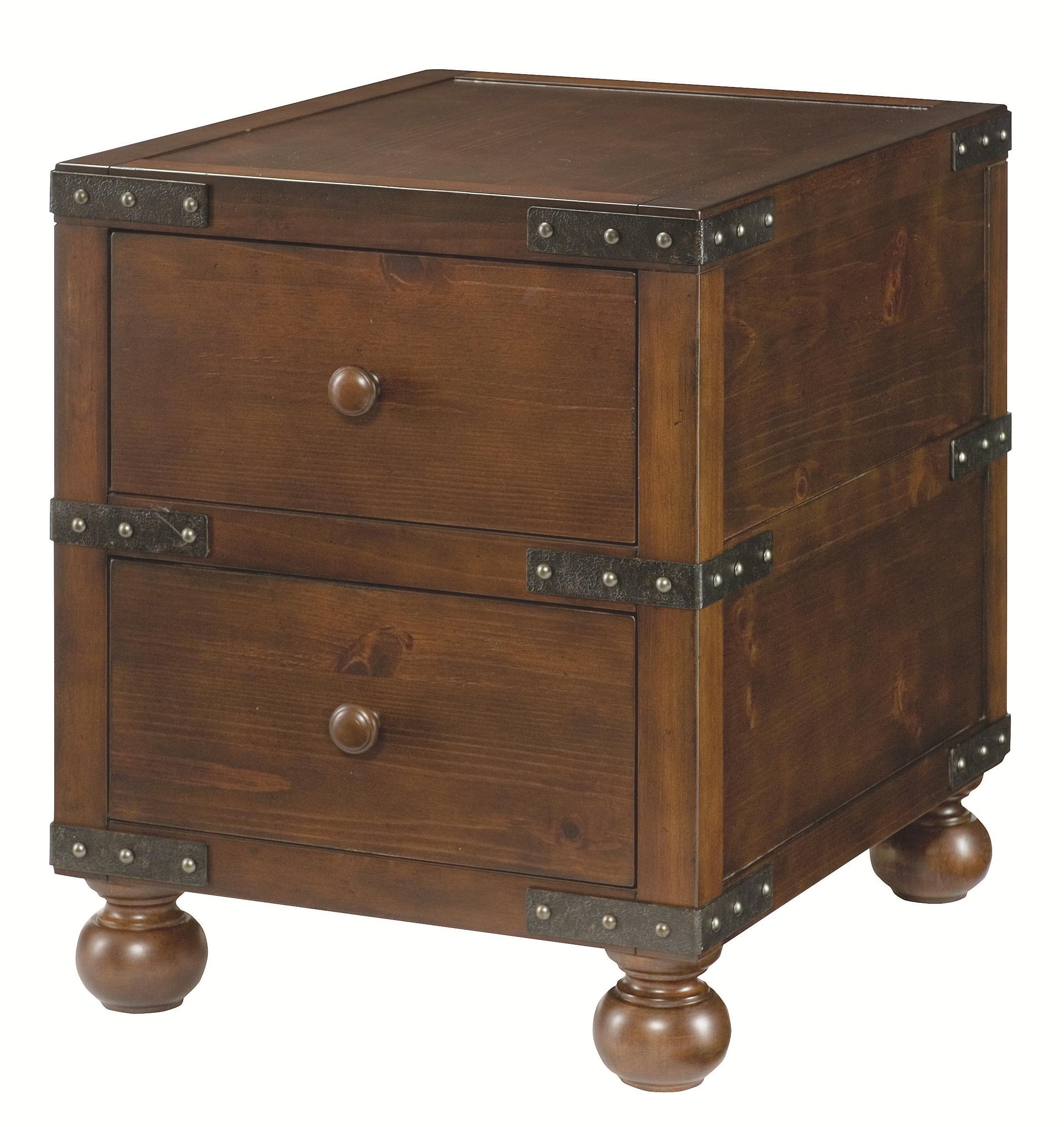 Hammary Hidden Treasures Trunk End Table - Item Number: 090-521