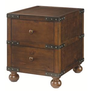Morris Home Furnishings Hidden Treasures Trunk End Table