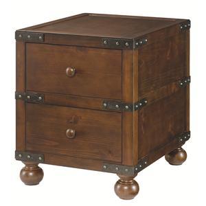 Morris Home Furnishings Hidden Treasures Trunk End Table