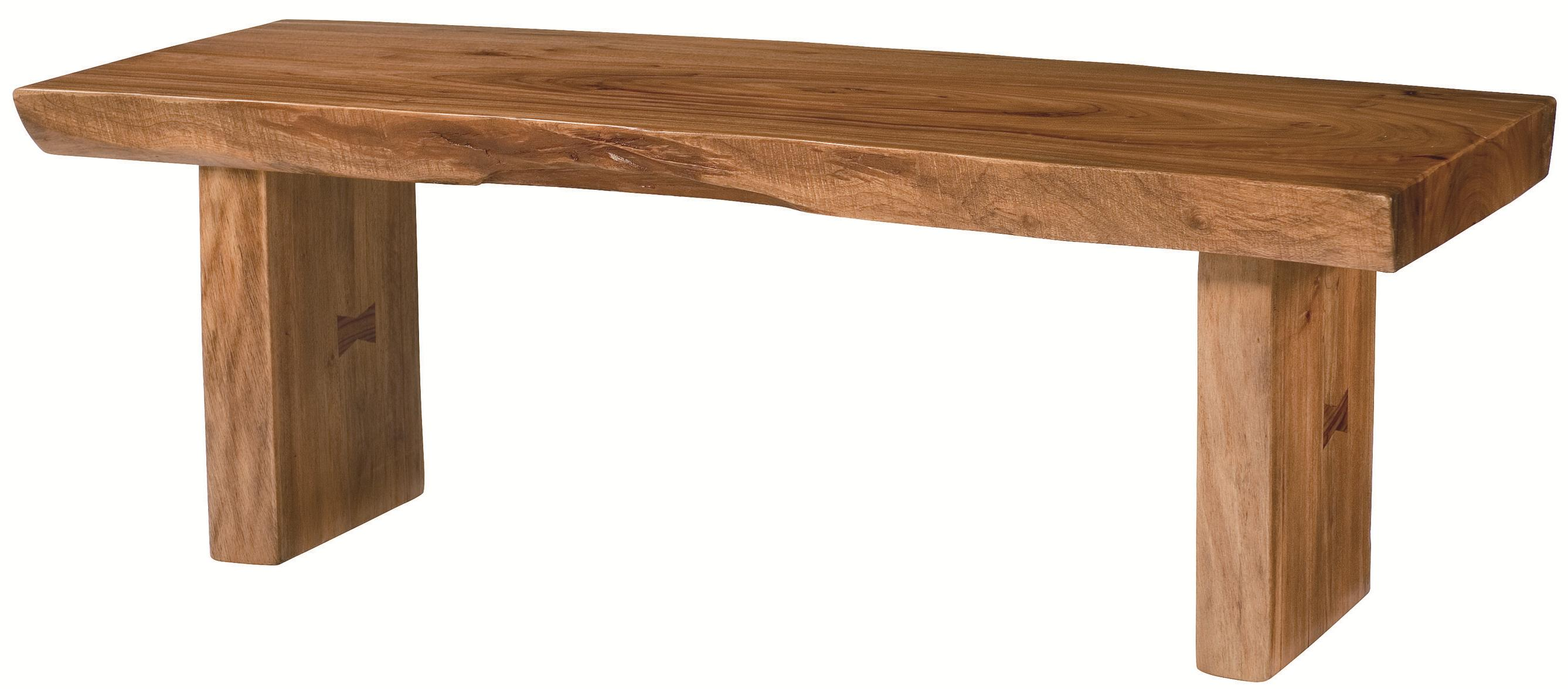 Hammary Hidden Treasures Live Edge Cocktail Table - Item Number: 090-554