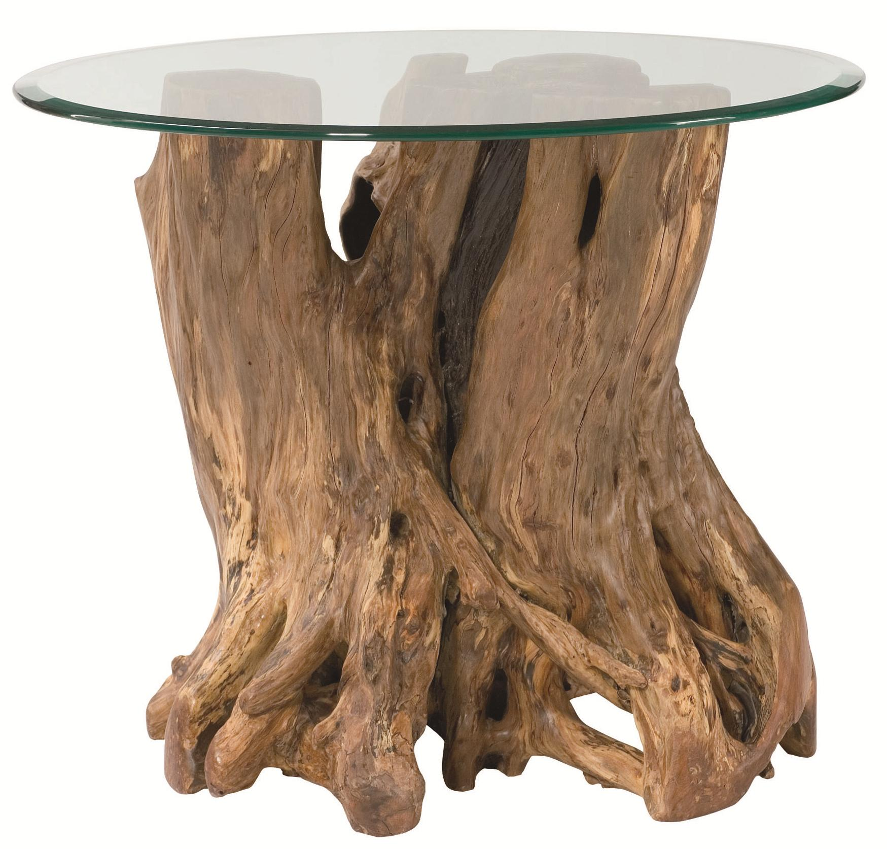 Hammary Hidden Treasures Root Ball End Table - Item Number: 090-556R