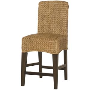 Hammary Hidden Treasures Woven Counter Stool