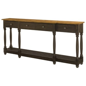 Hammary Hidden Treasures Drawer Console