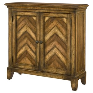 Hammary Hidden Treasures Chevron Cabinet