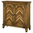 Hammary Hidden Treasures Chevron Cabinet - Item Number: 090-665
