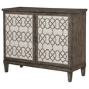 Hammary Hidden Treasures Nailhead Cabinet - Item Number: 090-700