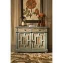 Hammary Hidden Treasures Door Cabinet with Adjustable Shelves