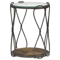 Hammary Hidden Treasures Round End Table - Item Number: 090-714