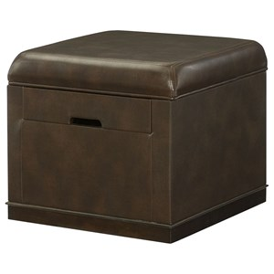 Hammary Hidden Treasures Lift Top Ottoman