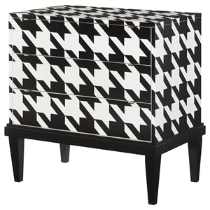 Hammary Hidden Treasures Houndstooth Cabinet