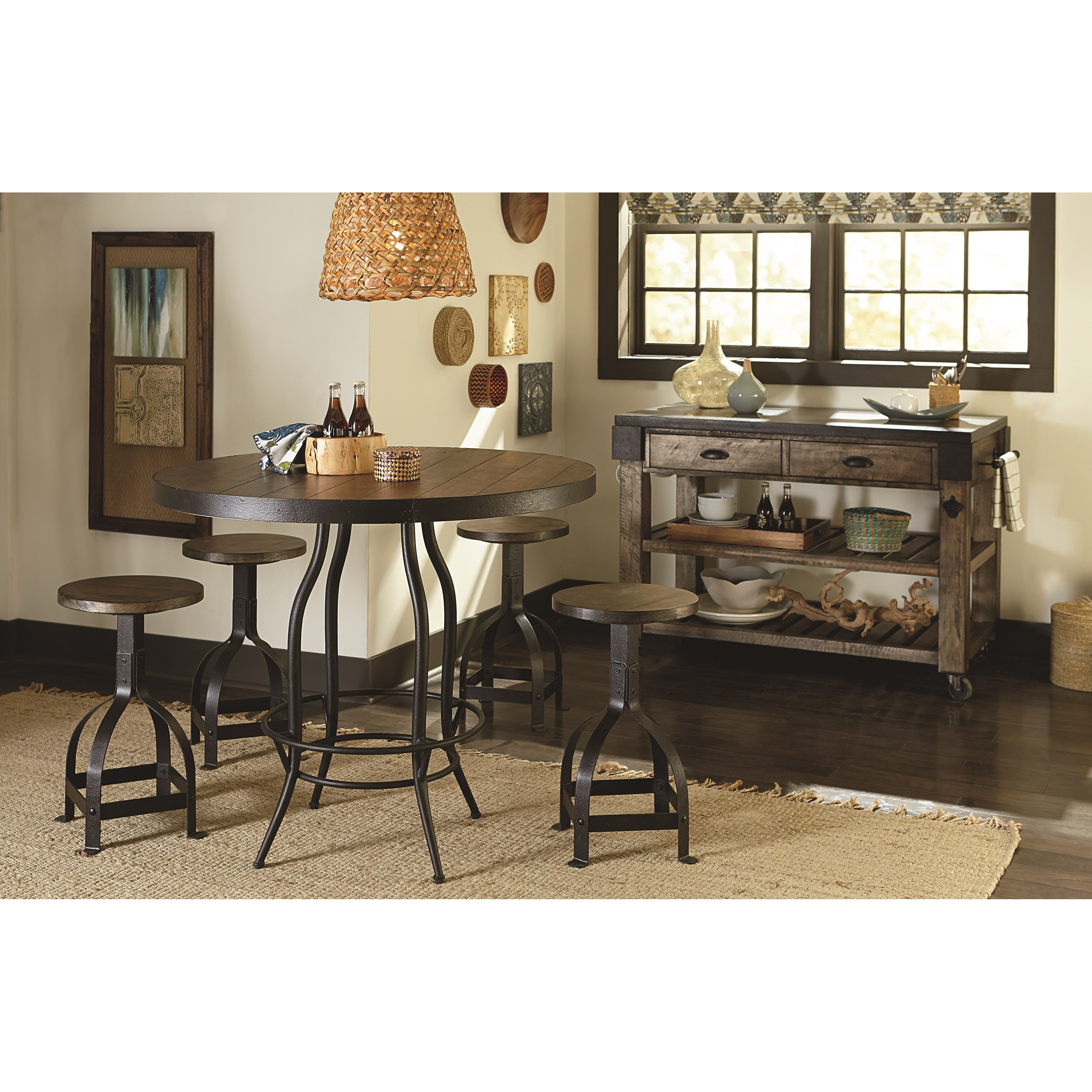 Kitchen Table Queens Quay: TABLE TRENDS Hidden Treasures Storage Kitchen Island With