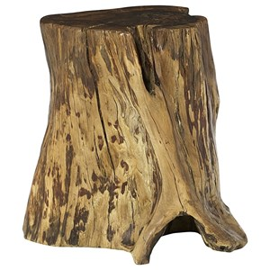 Hammary Hidden Treasures Tree Trunk Accent Table
