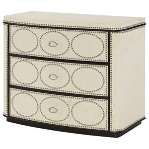 Hammary Hidden Treasures Nailhead Drawer Cabinet