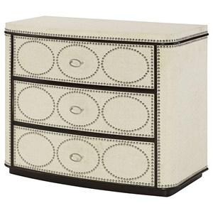 Hammary Hidden Treasures Nailhead Drawer Cabinet