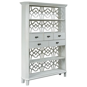 Hammary Hidden Treasures Fret Etagere Room Divider