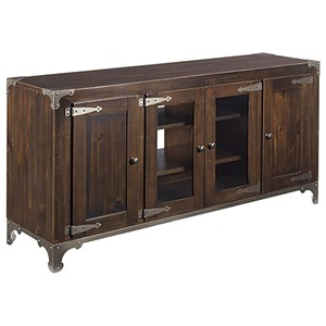 Hammary Hidden Treasures Ice Box Entertainment Console