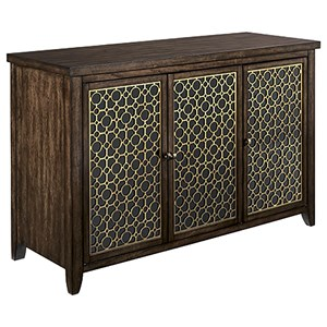 Hammary Hidden Treasures Wine/Entertainment Console