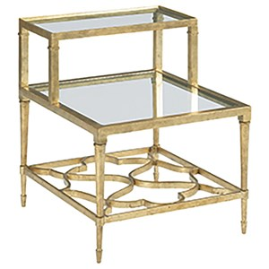 Hammary Hidden Treasures Step Side Table