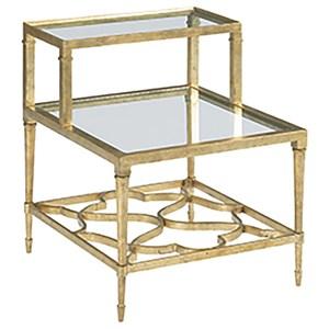 Hammary Hidden Treasures Step Side Table