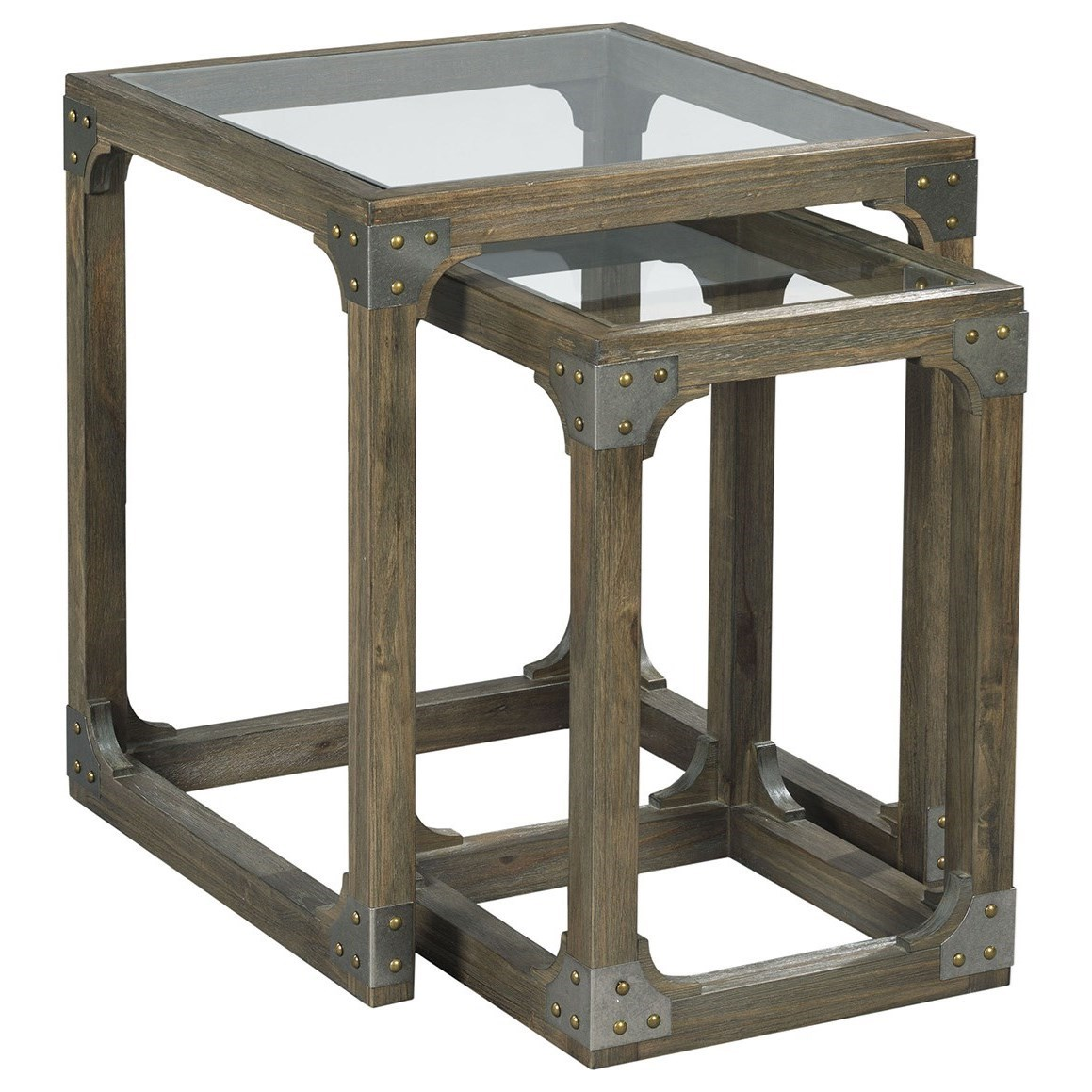 Hammary Hidden Treasures Rustic Nesting Tables Wayside