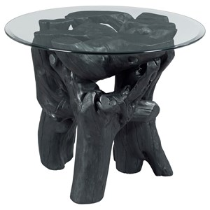 Morris Home Hidden Treasures Root Ball End Table