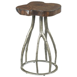 Morris Home Furnishings Hidden Treasures Live Edge Twig Table