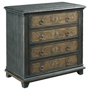 Morris Home Hidden Treasures 4-Drawer Cabinet