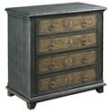 Hammary Hidden Treasures 4-Drawer Cabinet - Item Number: 090-938