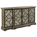 Hammary Hidden Treasures Fret Cabinet - Item Number: 090-972