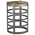 Hammary Hidden Treasures Barrel Strap End Table - Item Number: 090-973