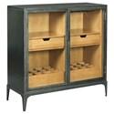 Morris Home Hidden Treasures Metal Hall Cabinet - Item Number: 090-977