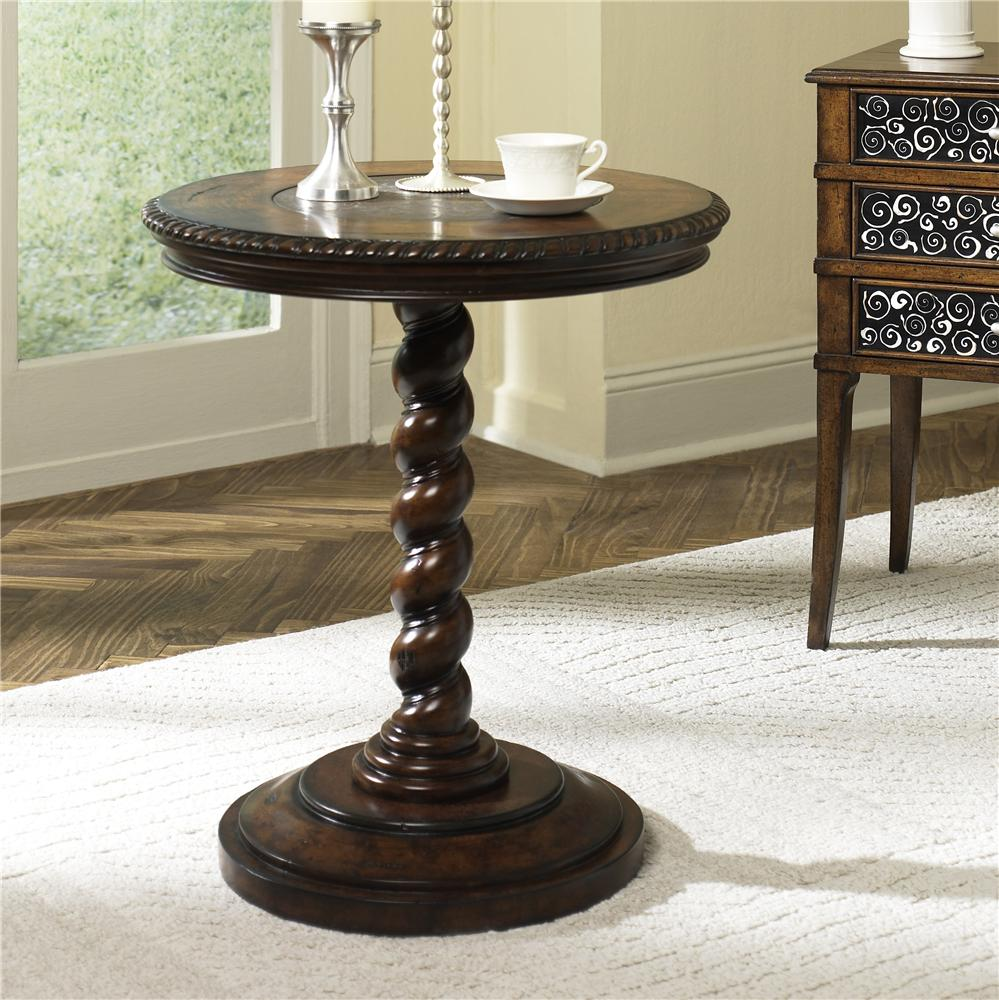 Hammary Hidden Treasures Twisted End Table - Item Number: T71054-00