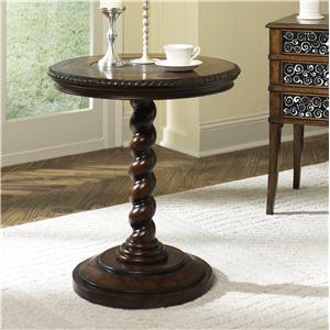 Morris Home Furnishings Hidden Treasures Twisted End Table