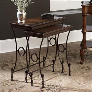 Morris Home Furnishings Hidden Treasures Nesting Tables