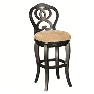 Morris Home Hidden Treasures Counter Height Barstool