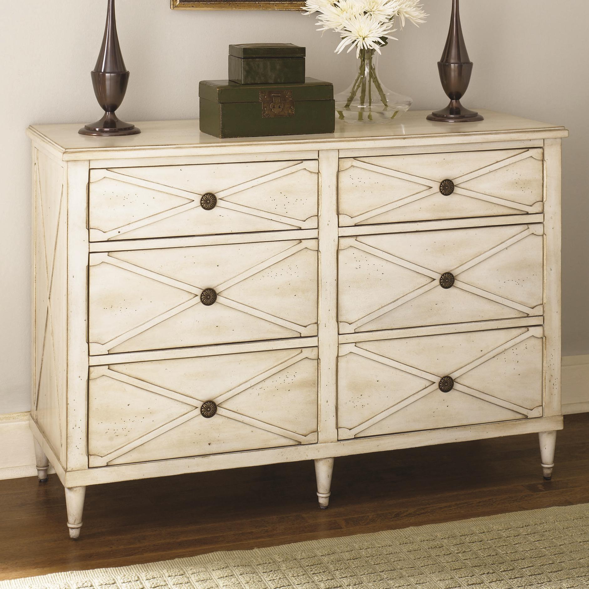 Hammary Hidden Treasures White Drawer Chest - Item Number: T73291-11