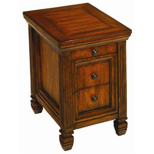 Morris Home Furnishings Hidden Treasures Chairside End Table
