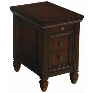 Morris Home Furnishings Hidden Treasures Chairside End Table