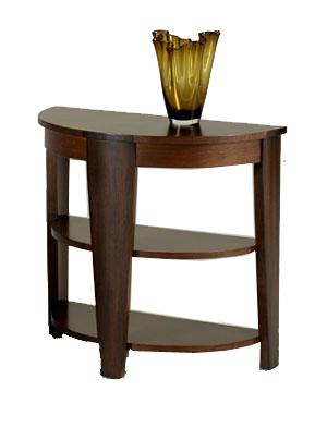 Hammary Oasis Demilune End Table - Item Number: T2003419-00