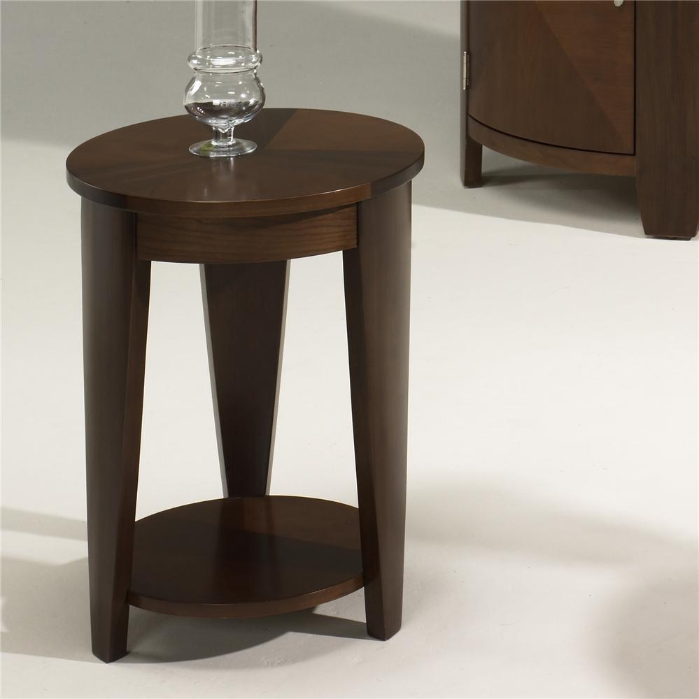 Hammary Oasis Round Chairside Table - Item Number: T2003435-00