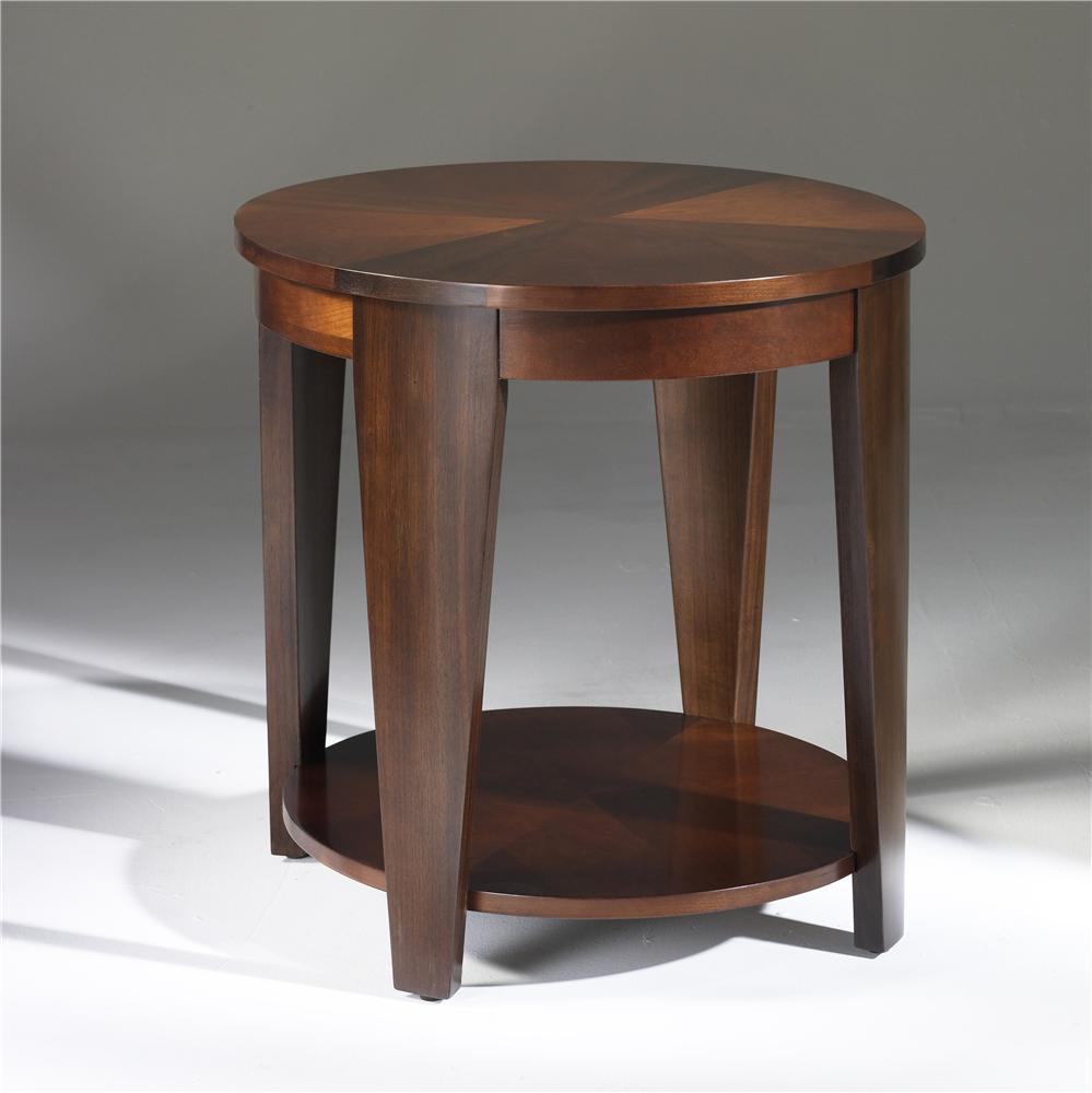 Hammary Oasis Oval End Table - Item Number: T2003436-00