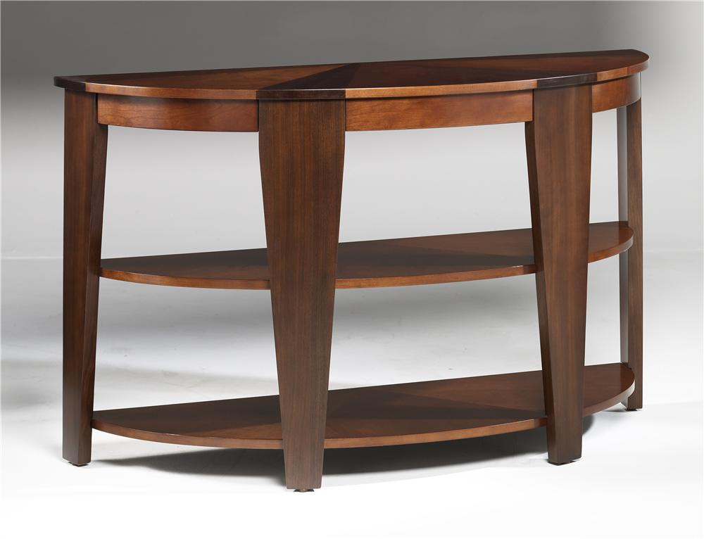 Hammary Oasis Demilune Sofa Table - Item Number: T2003489-00