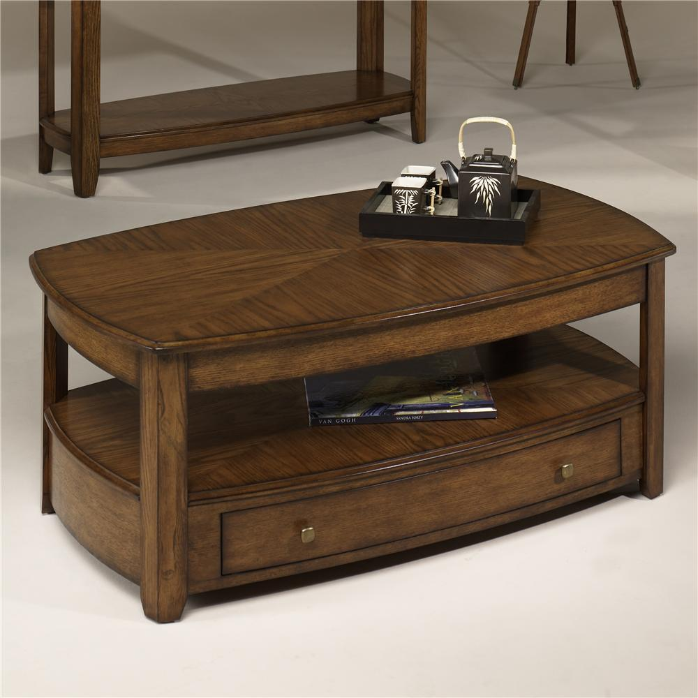Hammary Primo Rectangular Lift-Top Cocktail Table - Item Number: T2006902-00