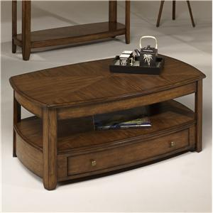 Hammary Primo Rectangular Lift-Top Cocktail Table